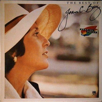 Joan Baez - The Best Of Joan C. Baez - A&M Records - 393 234-1 (Joan Baez Best Of Joan C Baez)