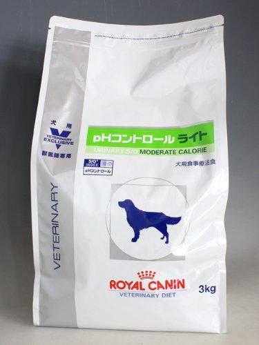 ロイヤルカナン 療法食 pHコントロール ライト ドライ 犬用 3kg×4個 B00APT9DQS