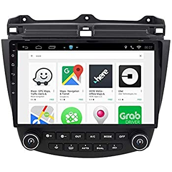 ChoGath 10.2 Inch 2G RAM Android 7.0 Car Audio GPS Navigation for Honda Accord 7 2003-2007 Head Unit with 1080P Video Bluetooth Mirror link