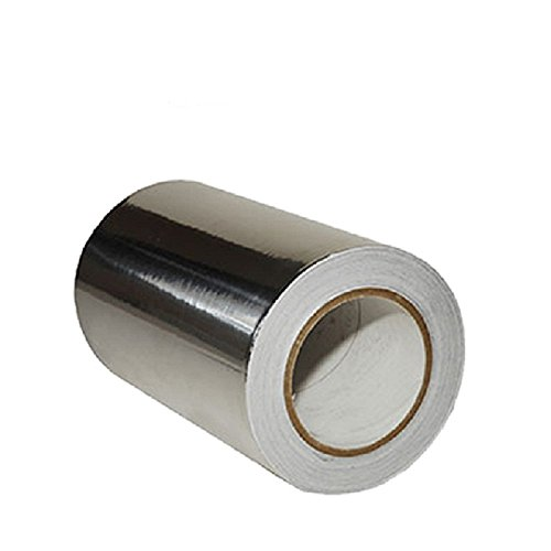 (2-Pack) Upgrade Professional Grade Aluminum Foil Tape - 3.6mil (2 inch by 55 Yards=165feet) - Perfect for HVAC, Sealing & Patching Hot & Cold Air Ducts, Metal Repair, and Much More! by TOPCOD (Image #4)