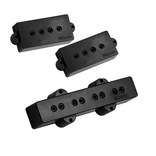 DiMarzio Model P+J Bass Pickup Set (Pickup Guitar Dimarzio Bass)