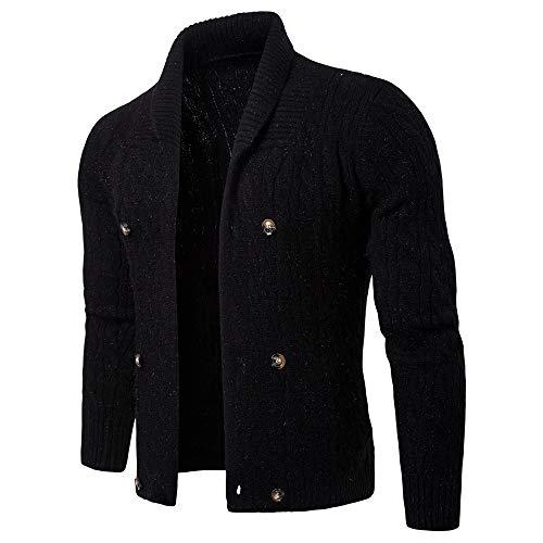 Black Chandail Size M De Tricoté Blue color Manteau Tricot En ax4z1qA7Zw