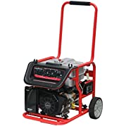 PowerSmart PS48 7500W Portable Generator with 420cc Engine and 12VDC/14Ah Battery for Electric Start