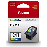 Genuine Canon CL-241 Ink Cartridge, Tri-Colour