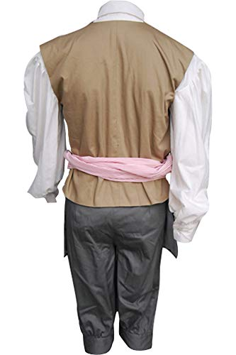 Cosplaysky Halloween Jack Sparrow Costume Pirates of The Caribbean 4 Cosplay Coat XXX-Large by Cosplaysky (Image #7)