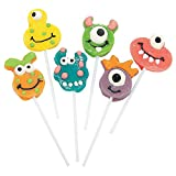 Goofy Monster Head Suckers (12 pack) Birthday Party Candy