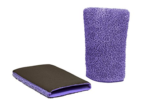 - Klaren Clean Detailing Flawless Finish Clay Bar Mitt, Heavy Duty, Purple