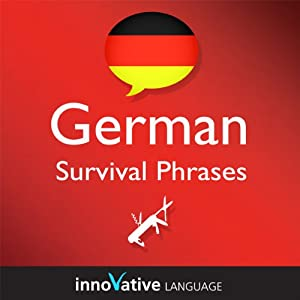 Learn German - Survival Phrases German, Volume 2: Lessons 31-60 Audiobook