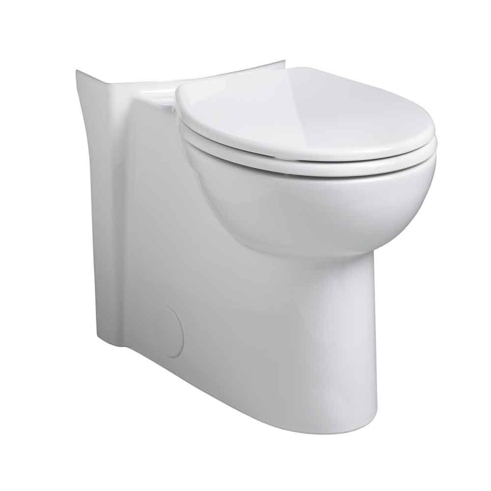 American Standard 3053.000.020 Cadet 3 Concealed Trap Right Height Round Front Bowl, White