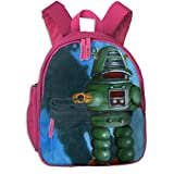 Bennett Kids Toddler Robot Dream Preschool Shoulder School Bag