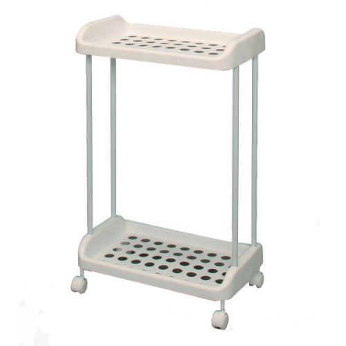 Wheeled Laundry Basket Rack BTR-780, White