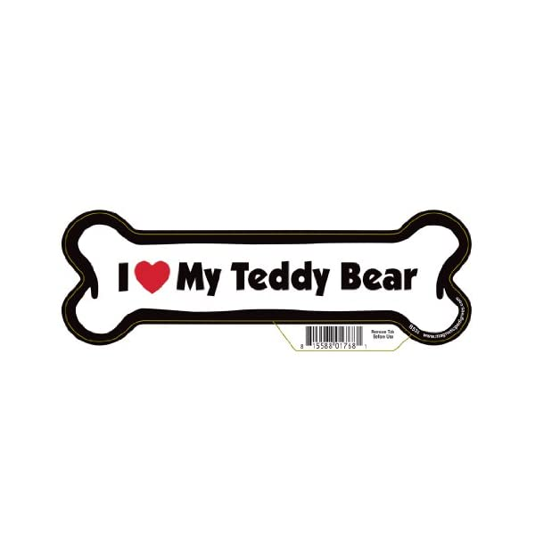 Pet Gifts USA Teddy Bear Dog Bone Magnet 1
