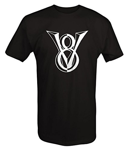 Ford Chevy Classic V8 Muscle Car Truck Emblem T shirt - 2XL