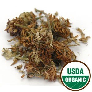 Clover Red Blossoms Dried - Organic Red Clover Blossom Whole