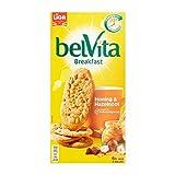 Biscuits | Belvita | LiGa BelVita Honey & Hazelnut Whole Wheat Breakfast Biscuit 6 x 4 Biscuits | Total Weight 300 Grams