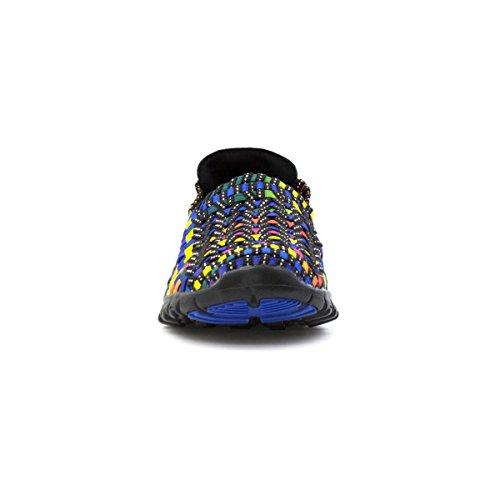 Hemelse Voeten Dames Multi-gekleurde Overslag Schoen Multicolour
