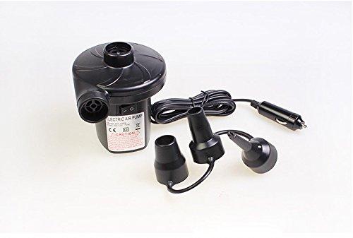 S-D elektrische Luftpumpe Inflator / Deflator für airbeds Planschbecken & Spielzeug, Universal Ventile. Stecker in Zigarettenanzünder im Auto (Luftpumpe)