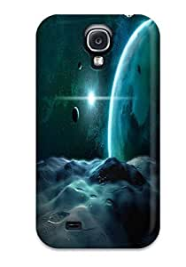 Anti-scratch And Shatterproof Star Colors Nature Stars Phone Case For Galaxy S4/ High Quality Tpu Case