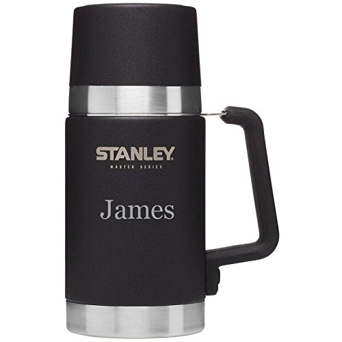 Personalized Stanley Master Vacuum Food Jar with free laser engraving by Stanley