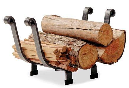 Enclume Basket Log Rack, Hammered Steel by Enclume Hearth