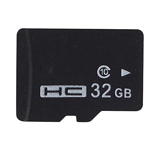 Jiayuane Tarjeta MicroSD de 32 GB Clase 10 Tarjeta de Memoria para ...