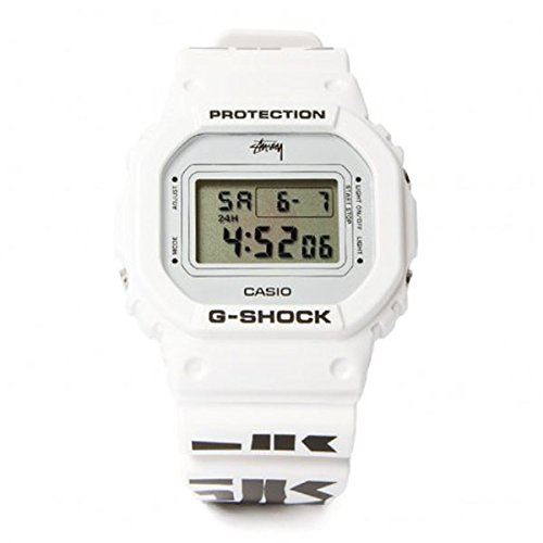 G Shock Stussy NTRNTNL Watch White