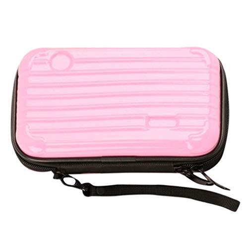 Distressed Pull Rustic C/c (Dergo ☀ Mini Suitcase Cosmetic Bag Suitcase Cosmetic Handbag Waterproof/Crashproof (C))