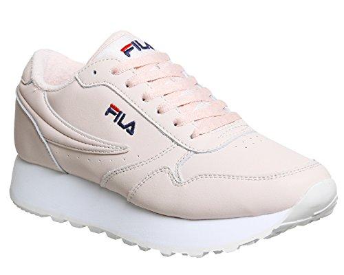 De Fila Vrouwen Schoenen / Sneaker Erfgoed Baan Zeppa Laag Roze