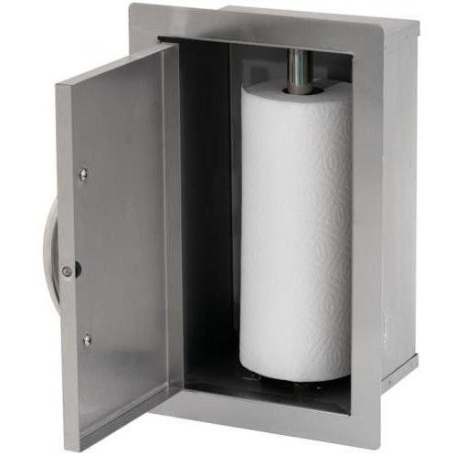 10.5'' BBQ Built-In Paper Towel Storage Bin by Cal Flame