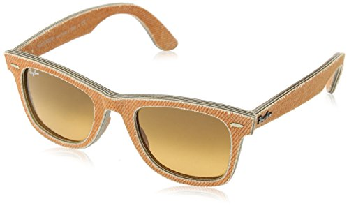 Ray-Ban Unisex ORB2140 Wayfarer Jeans Orange Sunglasses by Ray-Ban (Image #1)