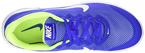 Nike Flex Experience RN 4 Laufschuh Racer Blau / Weiß-Volt-Weiß