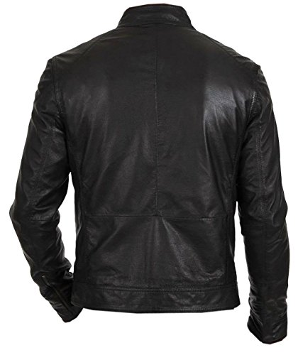 Piumino Biker Jacket Hunt Nfashions Black Uomo Giacca 6Yq5S