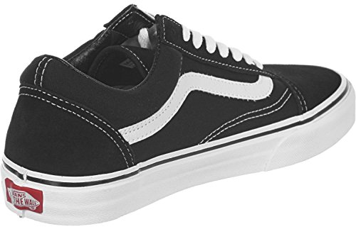Vans U Old Skool - Zapatillas, Unisex Adulto negro blanco