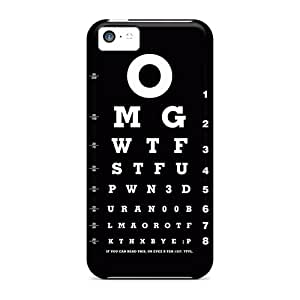 Excellent Iphone 5c Case Tpu Cover Back Skin Protector Optical Test