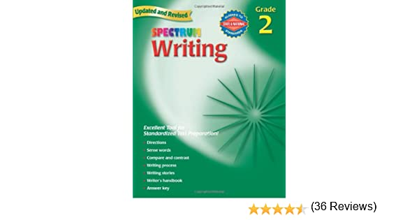 Amazon.com: Spectrum Writing, Grade 2 (0087577929828): School ...
