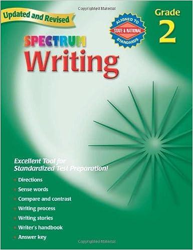 Amazon.com: Spectrum Writing, Grade 2 (0087577929828): School ...
