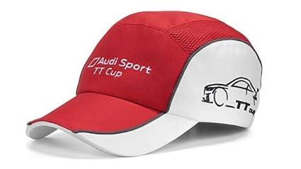 Original Audi Sport Gorra de béisbol Unisex Team TT Cup rojo ...