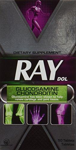 Gen Xray Dol Glucosamine Size 50ct Genomma Xray Dol Glucosam