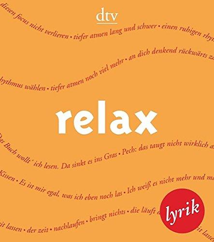 relax: Lyrik (dtv Literatur)
