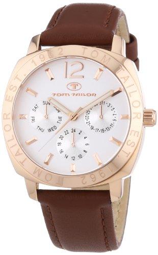 TOM TAILOR Damen-Armbanduhr Analog Quarz Leder 5412102