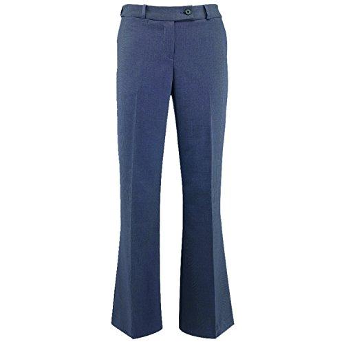 online store 77656 47e26 Bootcut Alexandra Gris Foncé Femme Tailleur Pantalon Icona qZZwt7A ...