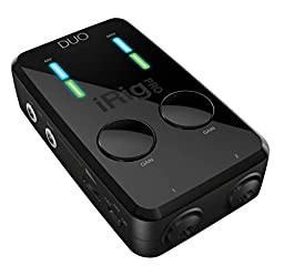 iRig Pro Duo 2-Channel Audio/MIDI Interface for iPhone iPad MAC/PC