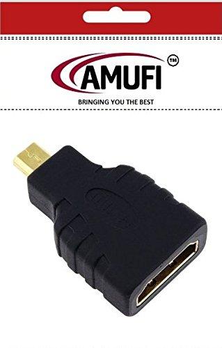 Micro HDMI de alta velocidad macho a hembra adaptador de HDMI le ...