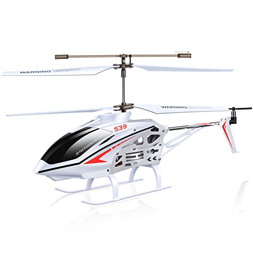 Syma S39 RC Helicopter with GYRO Toy Remote Control Helicopters 2.4G 3CH-White