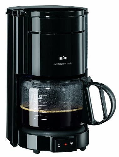 11 opinioni per Braun KF 47 freestanding Manual Drip coffee maker 10cups Black coffee maker-