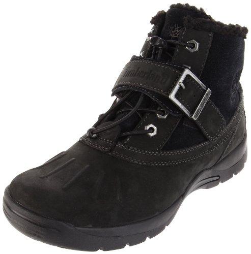 (Timberland Mallard Waterproof Mid Bungee With Strap Boot (Toddler/Little Kid/Big Kid),Black,5 M  US Toddler)