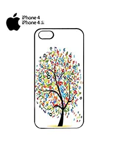 Lucky Number Tree Lottery Mobile Cell Phone Case Cover iPhone 4&4s Black