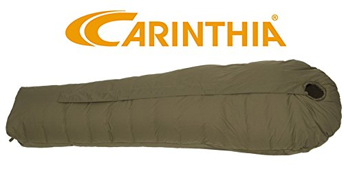 Carinthia Defence 4 200 L Sleeping 가방 Centre Zip 올리브 / Carinthia Defence 4 200L Sleeping Bag Centre Zip Olive