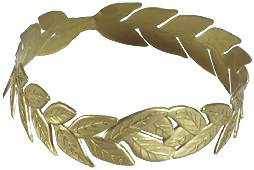 Greek God Costumes Poseidon - Laurel Wreath Gold