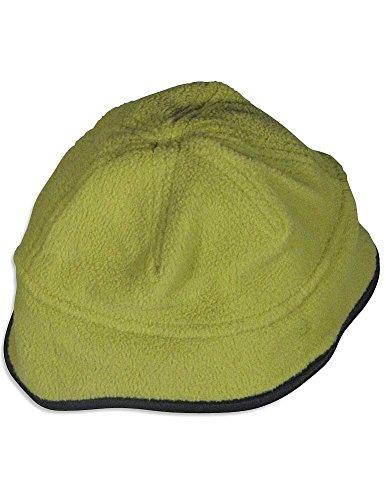 (Famous Brand - Little Girls' Fleece Bucket Hat, Green, Black 26659-onesize)